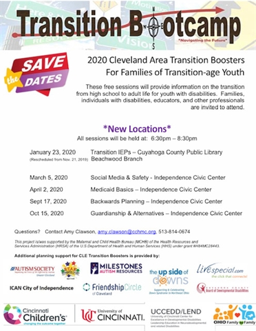 2020 Transition Bootcamp Cleveland Area