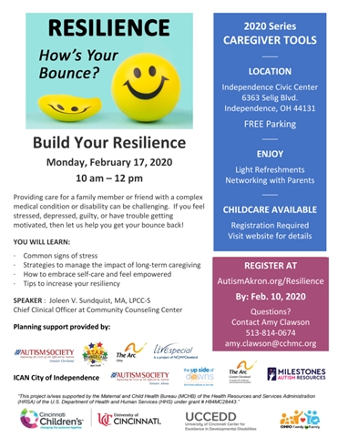 Resilience: Hows Your Bounce? Build Your Resilience